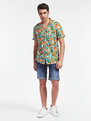 camicia tropicale guess