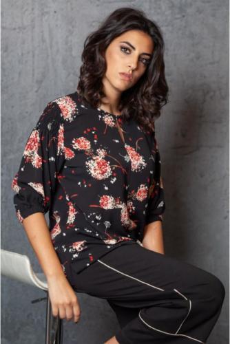 camicia-stampa-fiorellino-manica-gomito